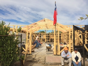 Framing complete - next step, finishing the roof.