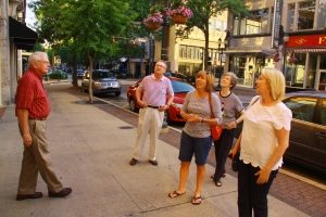 Experiencing downtown Greensboro