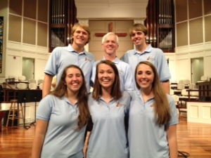 FBC All State group -  Anna, Leah, Erin, Bryce, Doug and John.
