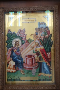 Icon of Jesus and the Woman at the Well