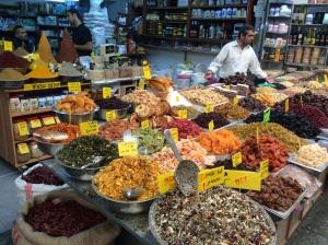 Sugar 'n spice at Mahane Yehuda