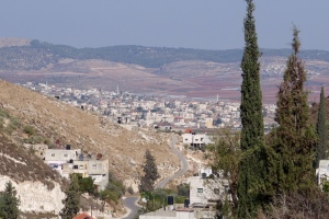 City of Jenin from the village of Burqin (where Jesus healed the Ten Lepers)