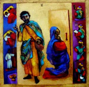 """""""A Friend in a Need and the Widow and the Judge"""" by Nelly Bube"""